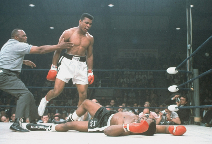 Muhammad Ali vs Sonny Liston Boxing Knockout